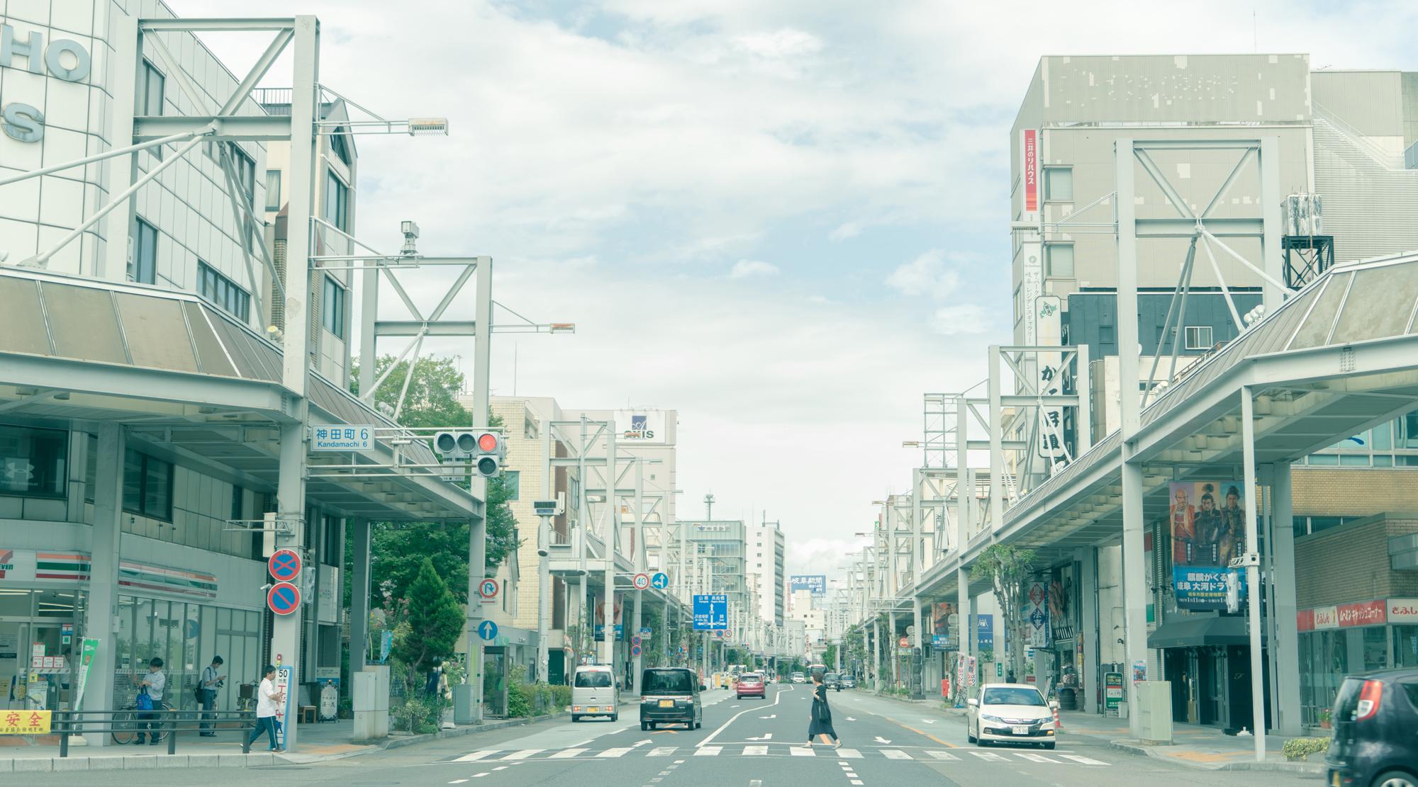 神田町六丁目商店街の風景